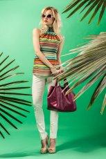 bluzeczka Midori w paski  - lookbook na lato