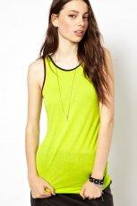 koszulka Asos - neonowa limonka