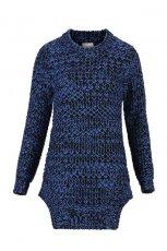 granatowy sweterek C&A - trendy na jesie� 2013