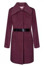 fioletowy p�aszcz TARANKO - kolekcja jesienna 2013