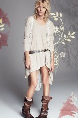 be�owa sukienka Free People - moda 2013