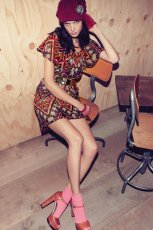 sukienka Patrizia Pepe we wzorki - jesienna moda