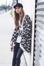 d�ugi sweter Mango w c�tki - moda na jesie� 2013