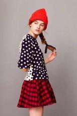 rozkloszowana sp�dniczka Asos w kratk� - jesienna moda