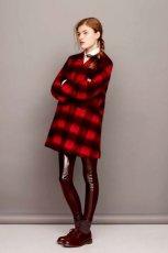 jesienny p�aszczyk Asos w kratk� - jesienna moda