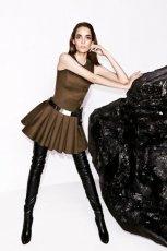 modna sukienka Simple w kolorze khaki - moda na jesie� 2013