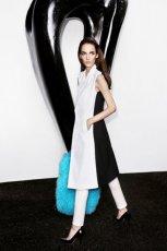 bia�o-czarna sukienka Simple - moda na jesie� 2013