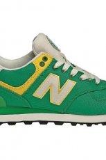 zielone buty sportowe New Balance - kolekcja jesienno-zimowa 2013/14