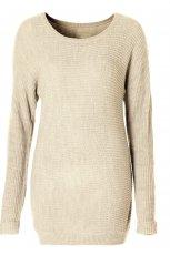 ecru sweterek Takko Fashion - trendy na jesie� 2013