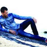 m�ska jeansowa koszula Reserved - jesie� 2013