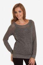 popielaty sweter Greenpoint
