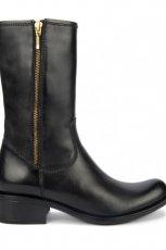 wysokie botki Gino Rossi w kolorze czarnym - obuwie na zim� 2013/14