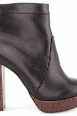 czarne na s�upku botki Baldowski - modne obuwie na jesie� i zim�