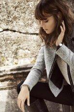 szara kurtka Reserved - kolekcja jesienna