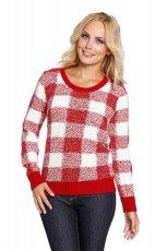 sweter C&A w kratk� - zima 2013/14