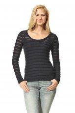czarny sweter Orsay - moda na jesie� 2013