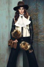 czarna kurtka Bizuu sk�rzana - z kolekcji jesie�/zima 2013/2014