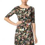 sukienka Orsay w kwiaty - jesie� i zima 2013/14