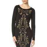 sukienka Orsay w kolorze czarnym - moda na zim� 2013/14