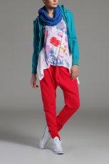 lu�ne spodnie Drywash w kolorze czerwonym - zima 2013/14