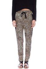 spodnie Pull and Bear w panterk� - moda 2013/14