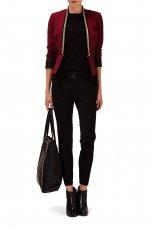 spodnie Reserved w kolorze czarnym - zima 2013/14