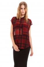 modna koszula Bershka w kratk� - moda 2013/14