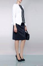 bia�a bluzeczka Monnari - modne bluzki