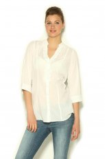 koszula Orsay w kolorze bia�ym - zima 2013/14