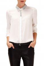 elegancka koszula Reserved w kolorze bia�ym - moda na zim�