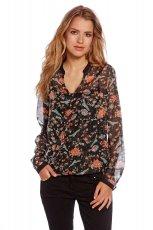 zwiewna bluzeczka C&A w kwiaty - modne koszule