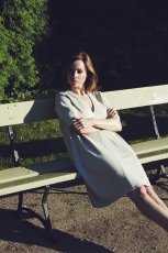 szara sukienka Borko - kolekcja jesienna 2013