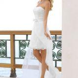 Suknia �lubna mini i maksi w jedym