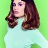foto 1 - Najpiękniejsze fryzury dla brunetek na wiosnę 2014