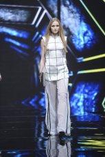 Tunika i transparentne spodnie