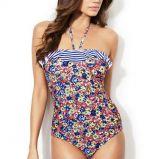 Kwiatowy i kobiecy kostium k�pielowy, cena 149 z�
