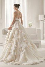 suknia �lubna Rosa Clara z falbanami