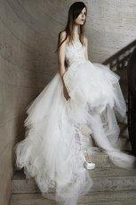 suknia �lubna Vera Wang asymetryczna