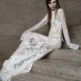suknia �lubna Vera Wang koronkowa