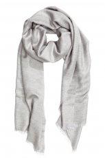 Szary szalik H&M, cena, ok. 39,90 z�