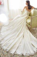 suknia �lubna Sophia Tolli z trenem