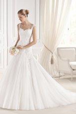 suknia �lubna La Sposa na rami�czkach