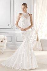 suknia �lubna La Sposa zabudowana