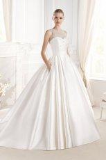suknia �lubna La Sposa z siateczk�