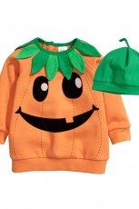 pomara�czowa bluza H&M dynia
