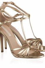 z�ote buty �lubne Pura Lopez