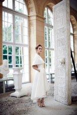 suknia �lubna La Mania z narzutk�