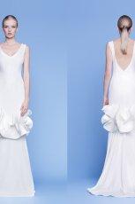suknia �lubna Rina Cossack z falbanami