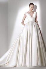 suknia �lubna Elie Saab z g��bokam dekoltem
