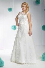 suknia �lubna Annais Bridal z kokard�